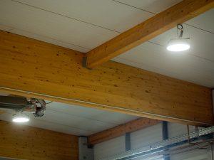 Hallenbeleuchtung auf LED-Basis