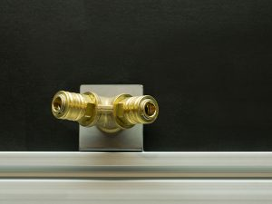 Integrierter Druckluftanschluss