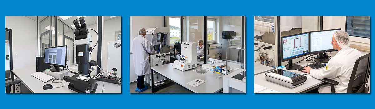 Labor für technische Sauberkeit