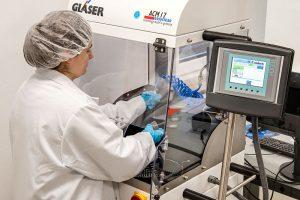 Prüfung der technischen Sauberkeit